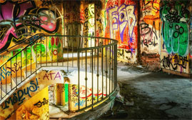 graffiti WB Cleaning Services Belfast