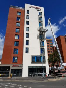 EXTERIOR BUILDING & RENDER CLEANING WB Cleaning Services Belfast