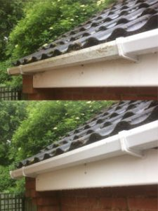 Gutter cleaning WB Cleaning Services Belfast
