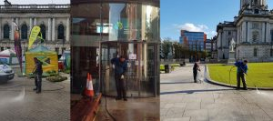 pressure washing WB Cleaning Services Belfast