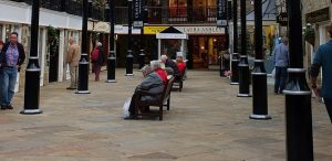 shopping precinct WB Cleaning Services Belfast